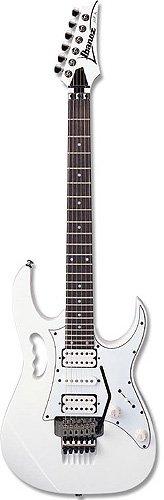 Гитара: Ibanez JemJr Wh.  Электрогитара, модель Steve Vai, цвет белый фурнитура черная...